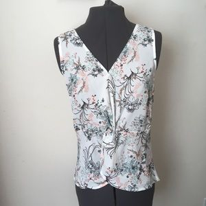 Maurices Floral Tank Top - Size Small